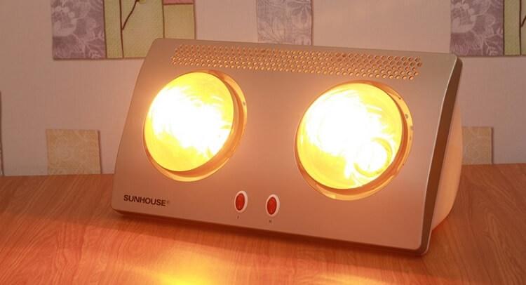Công suất của bóng đèn sưởi ấm