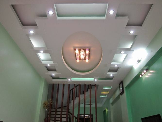 Cách bố trí đèn trần