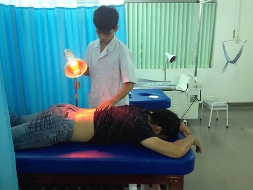 Đèn hồng ngoại dùng để chữa bệnh